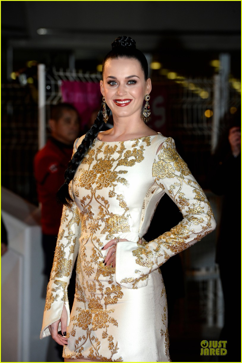 katy perry golden girl at nrj music awards 2013 023011945