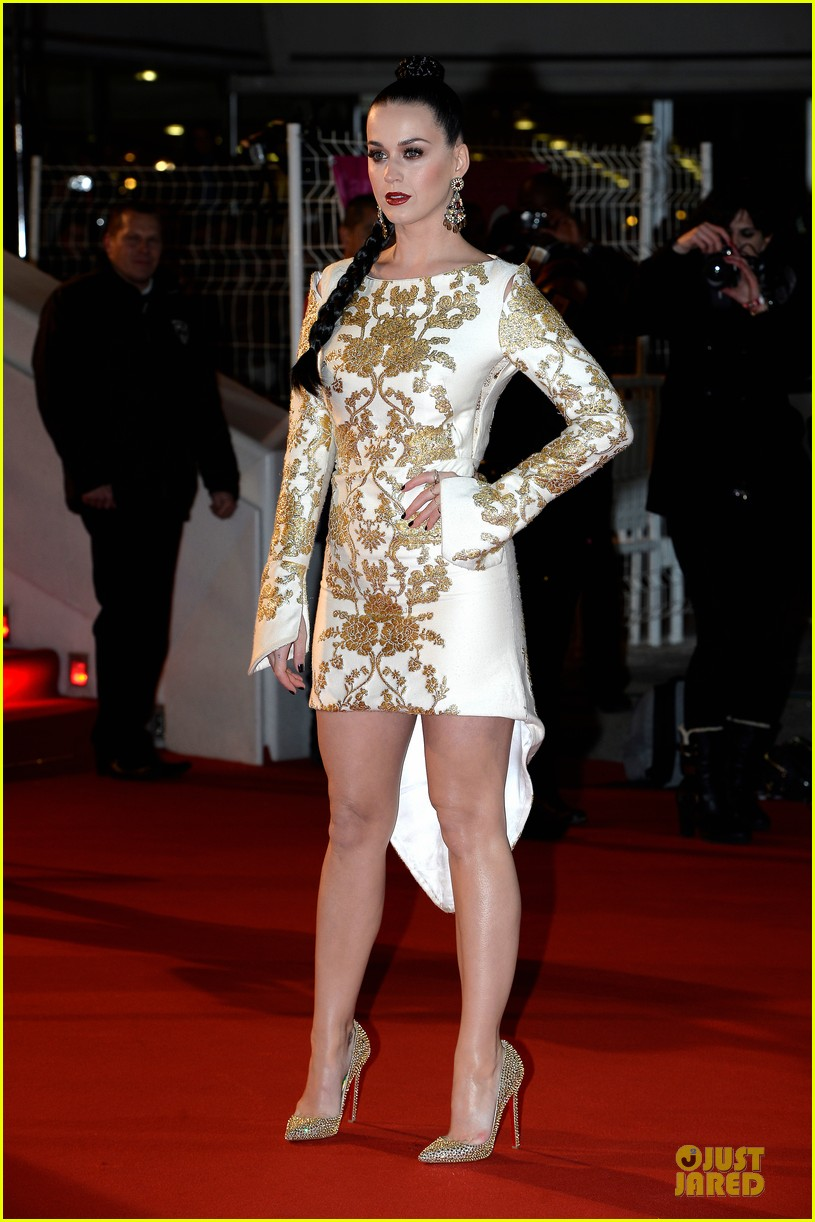 katy perry golden girl at nrj music awards 2013 143011957