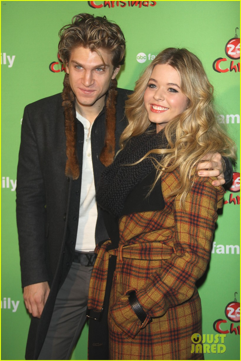 sasha pieterse keegan allen 25 days of christmas winter wonderland 01