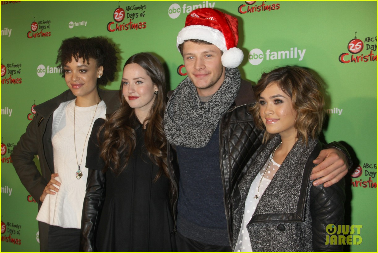 sasha pieterse keegan allen 25 days of christmas winter wonderland 02