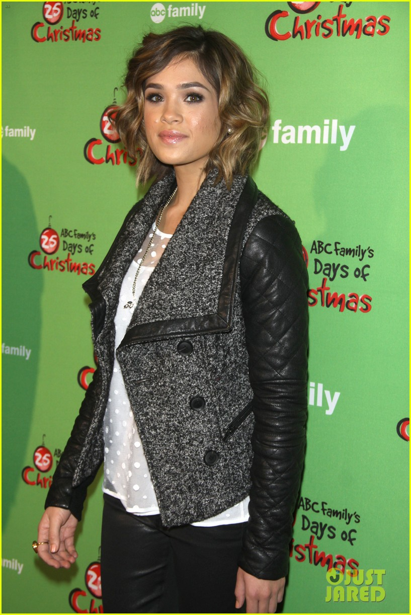 sasha pieterse keegan allen 25 days of christmas winter wonderland 103008245
