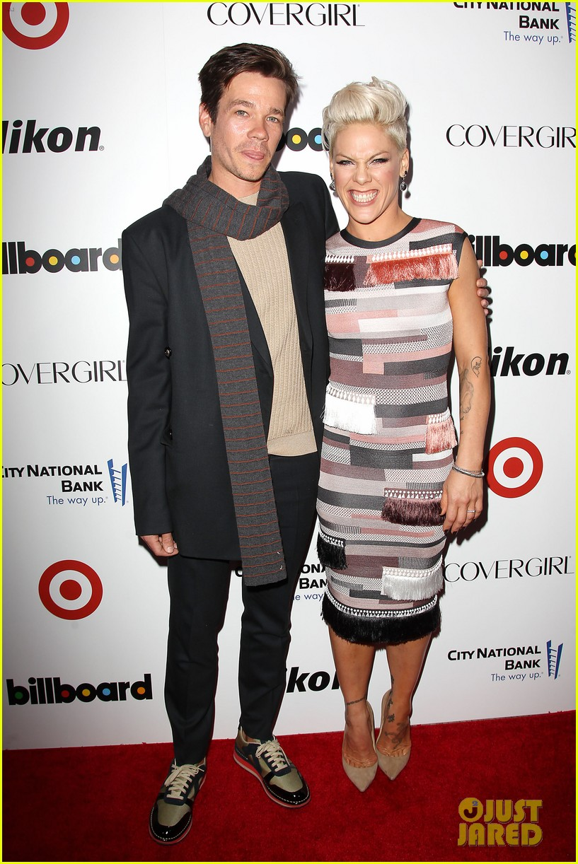 pink billboard women in music event with carey hart 053009180