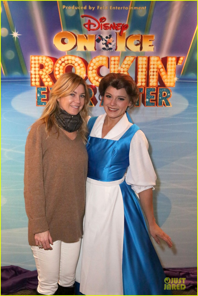ellen pompeo chris ivery disney on ice with stella 063012114