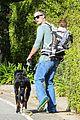 freddie prinze jr walks the dog with son rocky 16