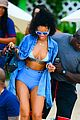 rihanna bikini beach babe for barbados christmas 25
