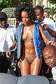 rihanna dazzling bikini babe in barbados 08