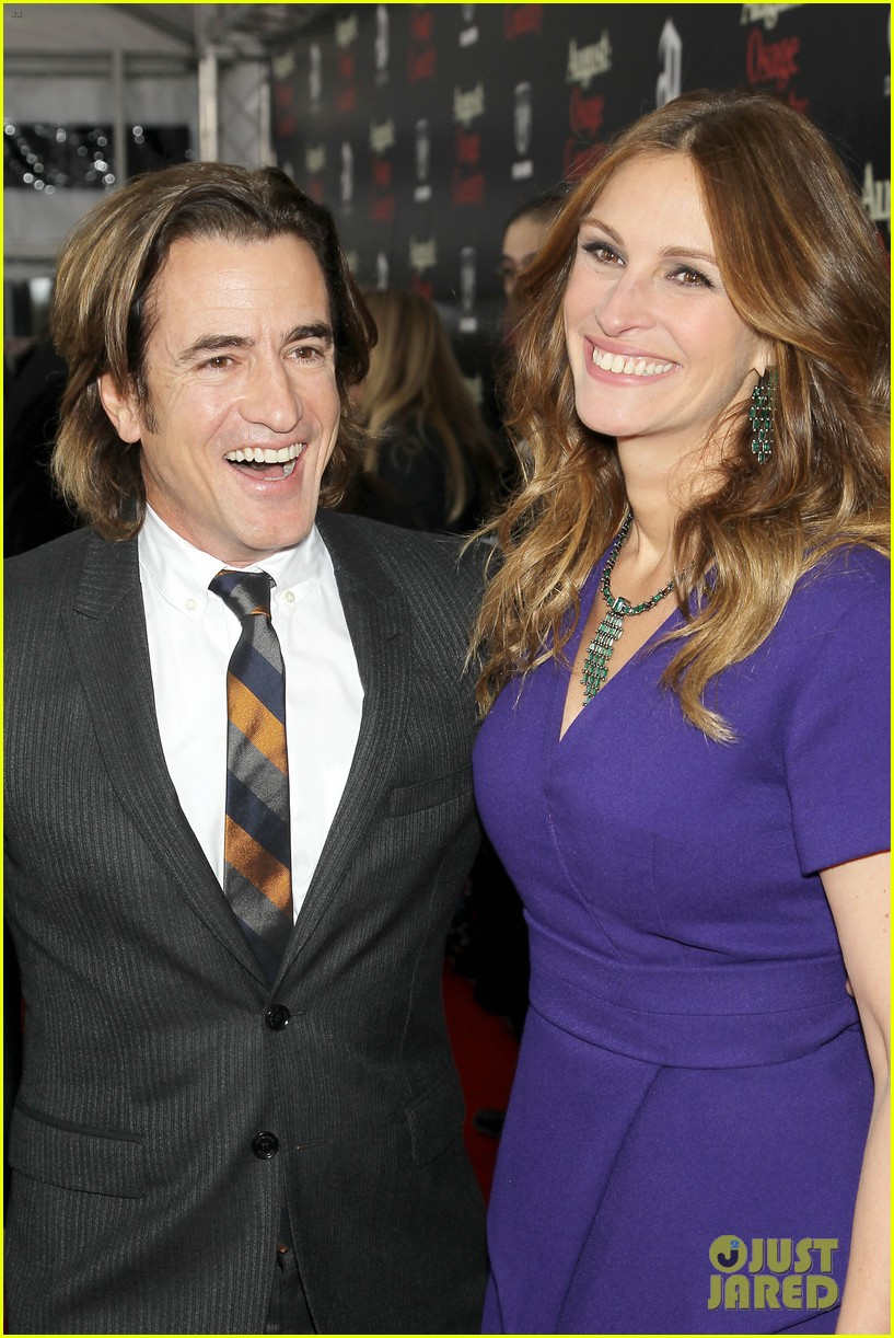 julia roberts durmot mulroney august osage county ny premiere 023010855