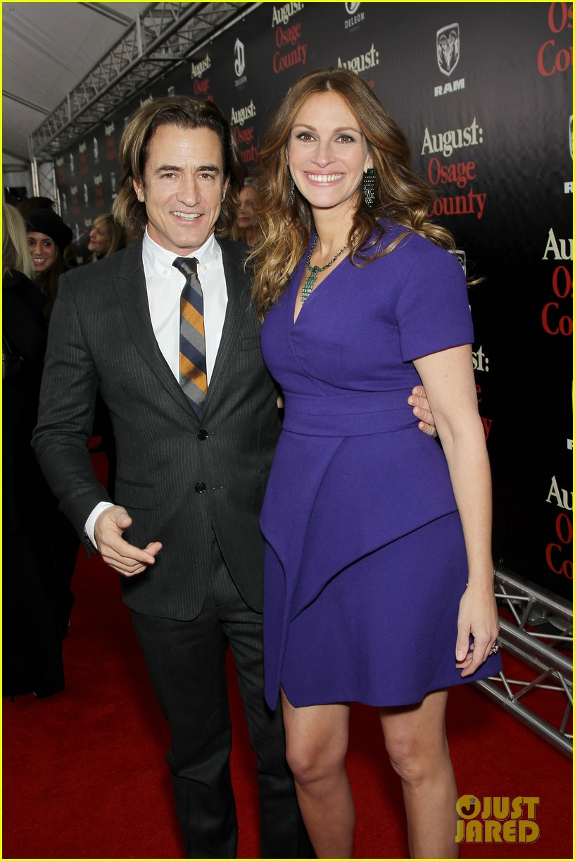 julia roberts durmot mulroney august osage county ny premiere 20