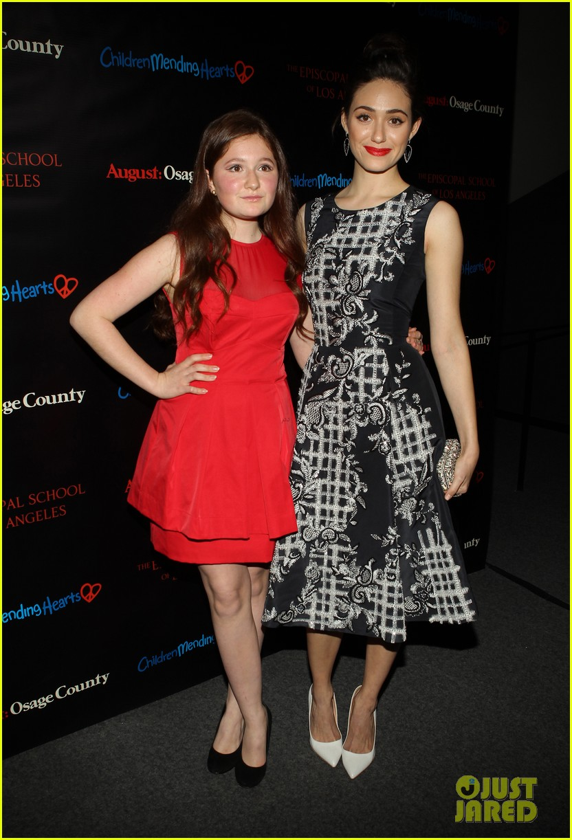 emmy rossum juliette lewis august osage county screening 24