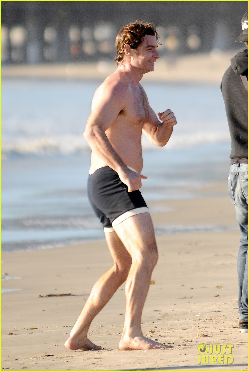liev schreiber goes shirtless in skimpy swimsuit at the beach 273009347