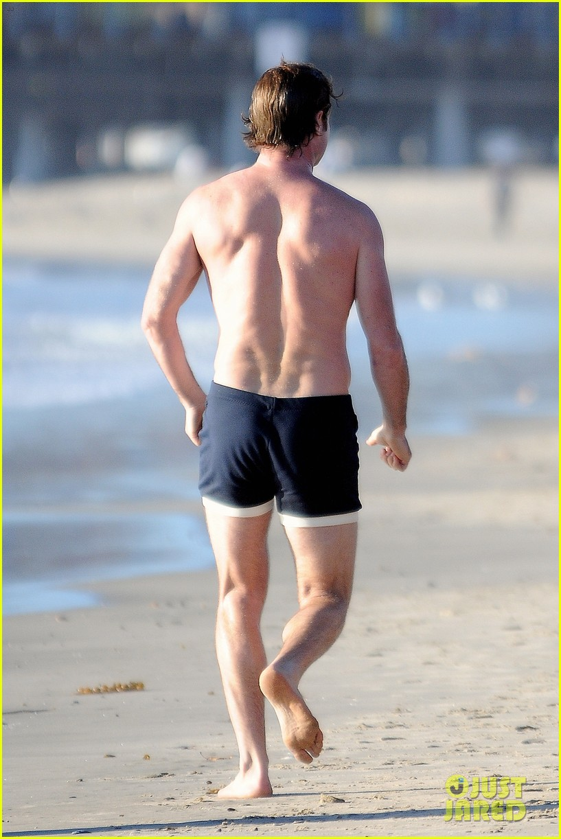 liev schreiber goes shirtless in skimpy swimsuit at the beach 30