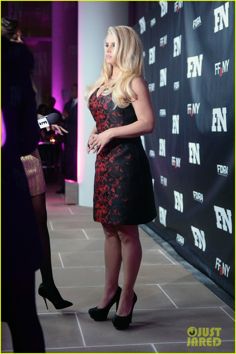 jessica simpson footwear news achievement awards 2013 133004868