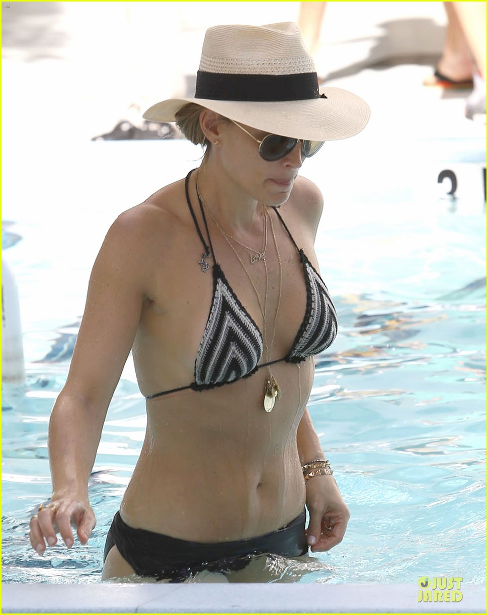 molly sims bikini relaxation with shirtless scott stuber 263017336