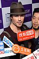 ian somerhalder benq digital camera promotion in china 08
