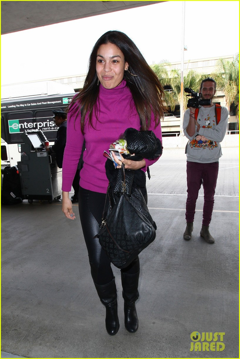 jordin sparks jennifer hudson idol ladies at lax airport 20