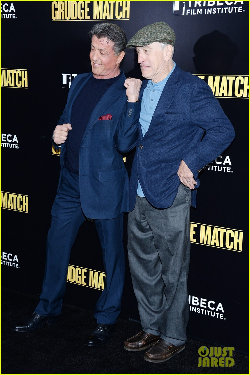 sylvester stallone robert de niro grudge match screening 103013538