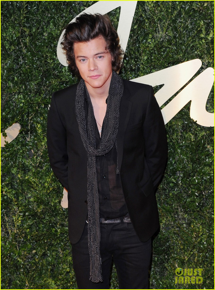 harry styles suki waterhouse british fashion awards 2013 02