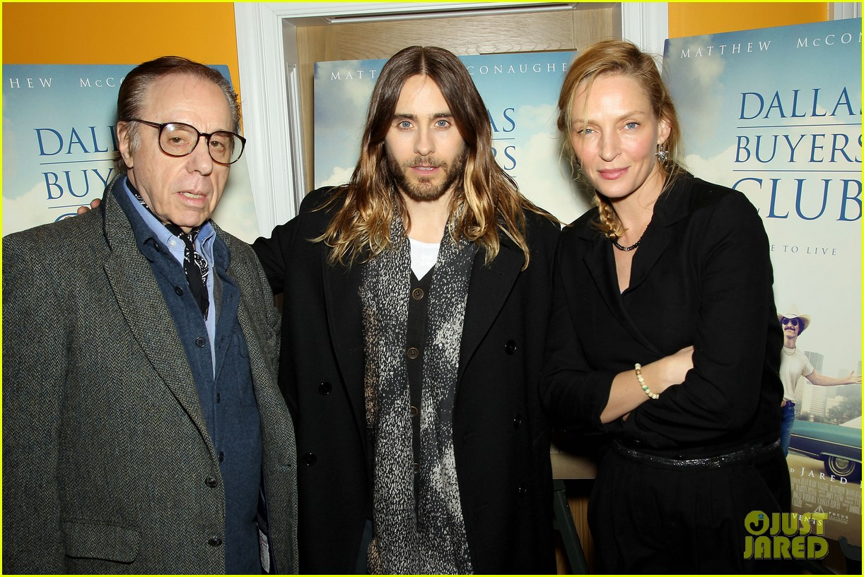 uma thurman jared let dallas buyers club nyc screening 133004816
