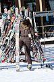 kanye west wears full face mask for skiing with kim kardashian 16