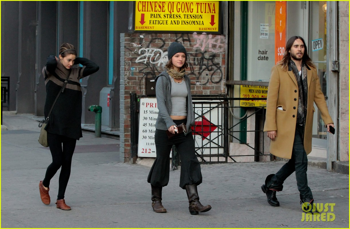 shailene woodley jared leto hang out in new york city 043005224