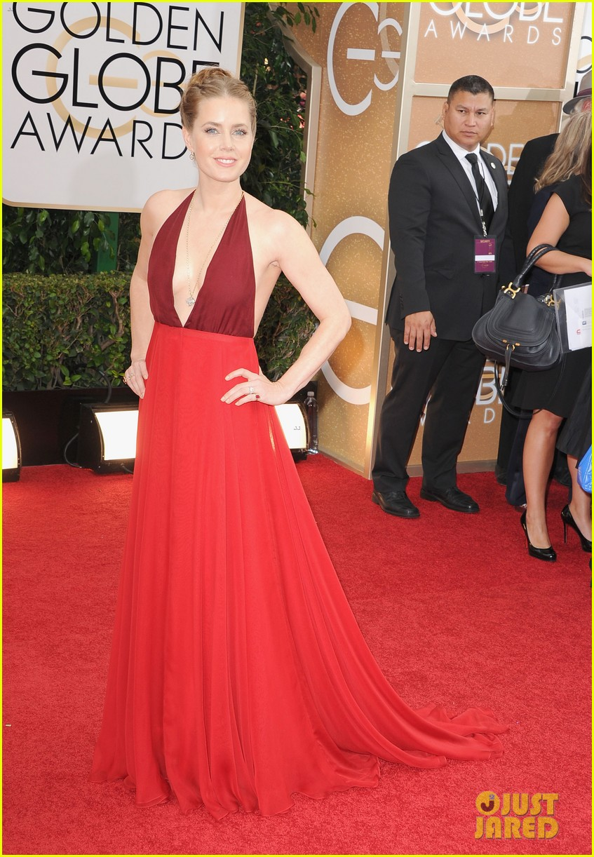 amy adams golden globes 2014 red carpet 05