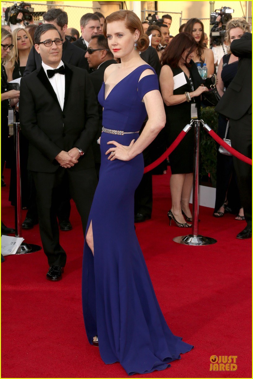 amy adams sag awards 2014 red carpet 03