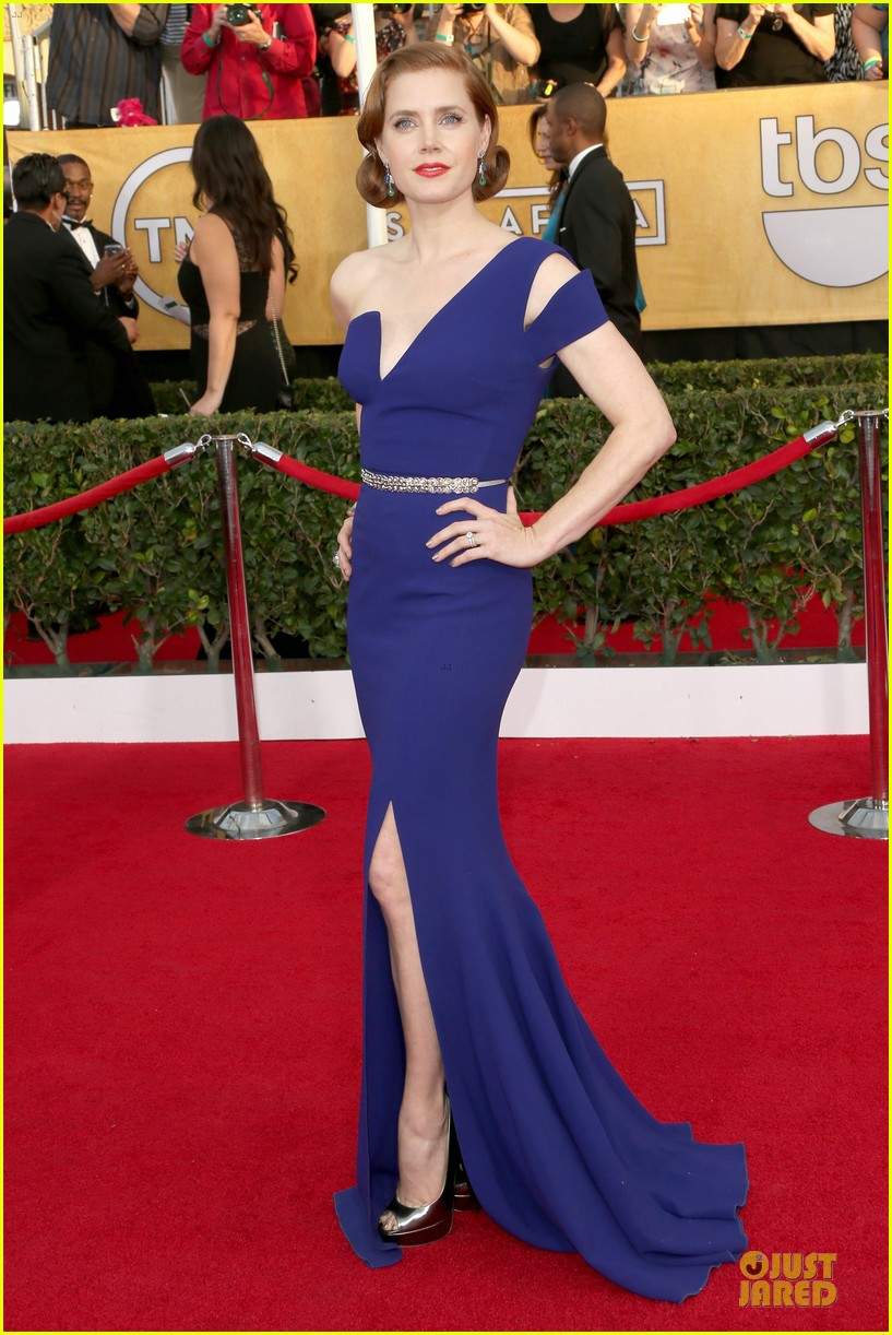 amy adams sag awards 2014 red carpet 053034658