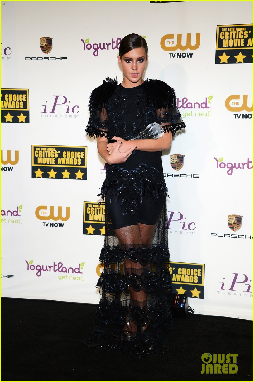 adele exarchopoulos critics choice movie awards 2014 01