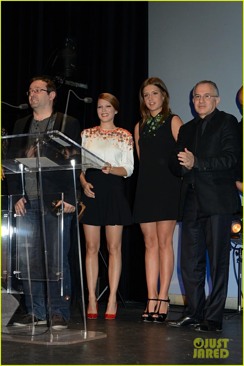 adele exarchopoulos lea seydoux les lumieres awards 02