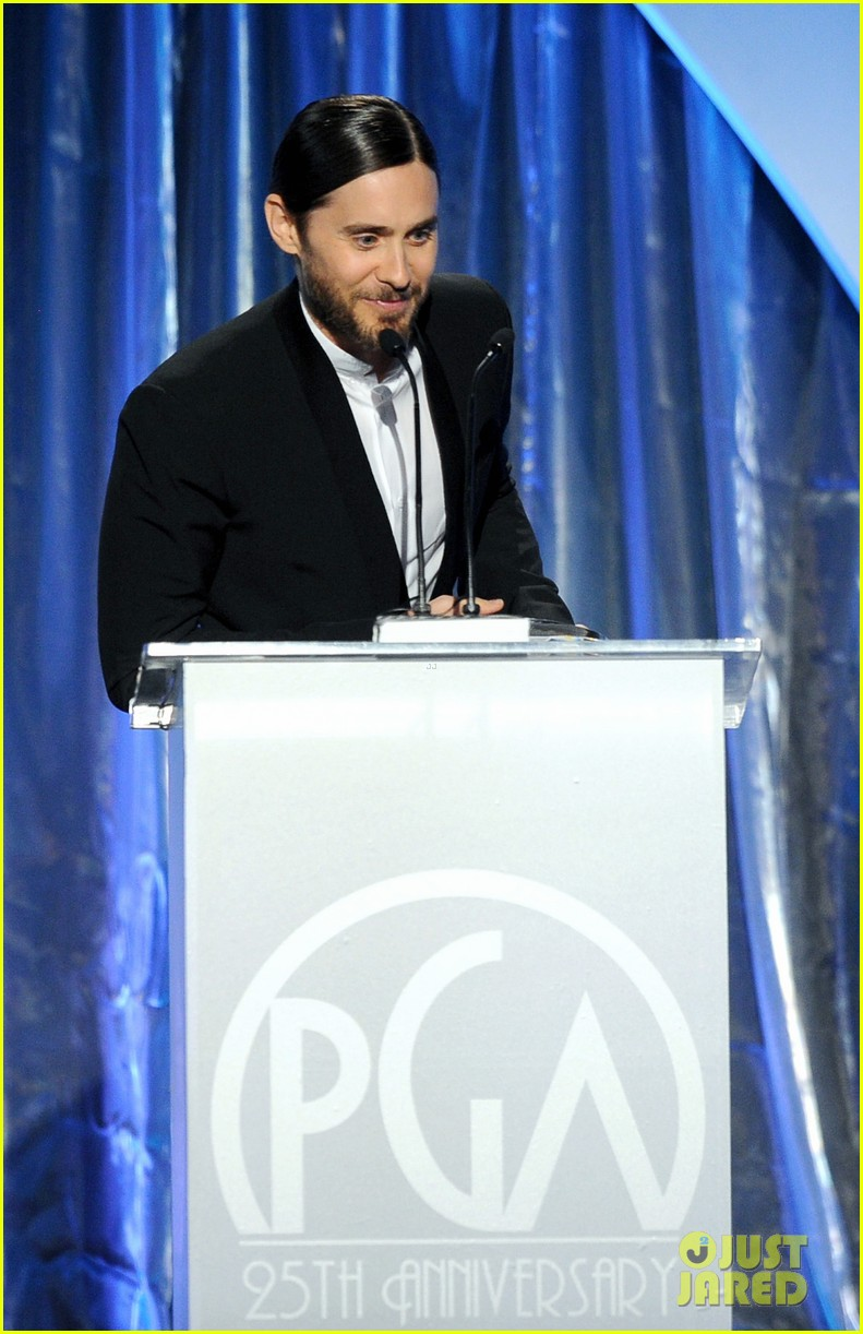 ben affleck jared leto producers guild awards 2014 01