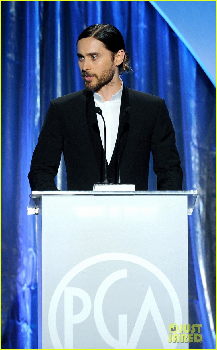 ben affleck jared leto producers guild awards 2014 10