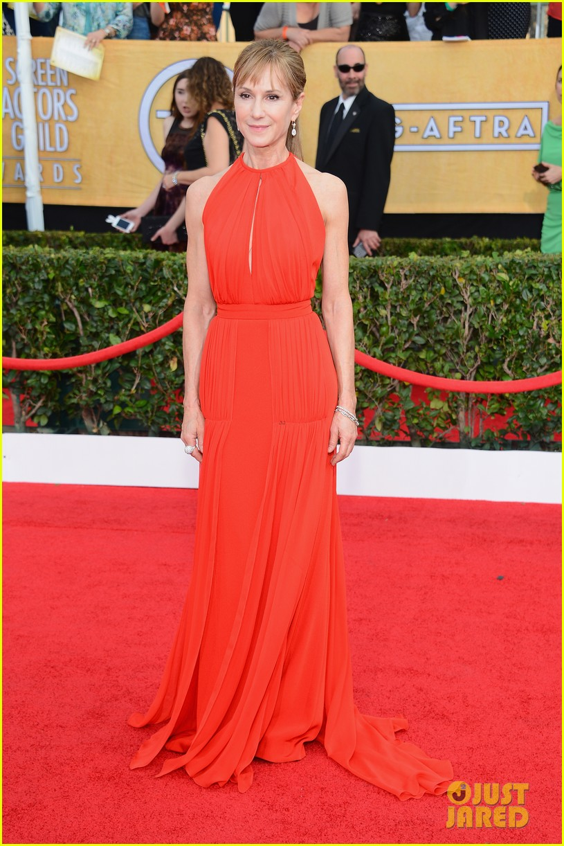 sasha alexander holly hunter sag awards 2014 red carpet 08