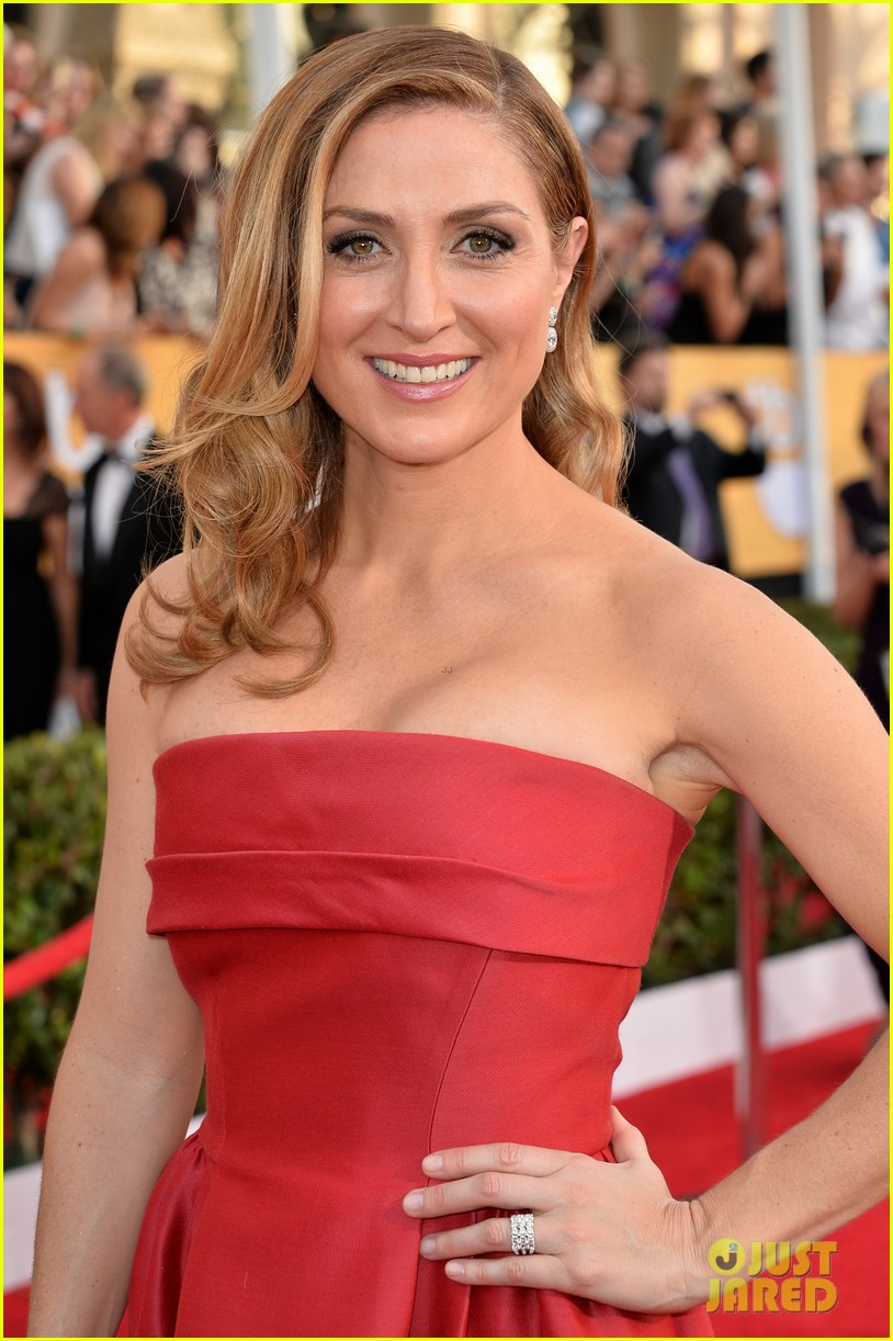 sasha alexander holly hunter sag awards 2014 red carpet 17