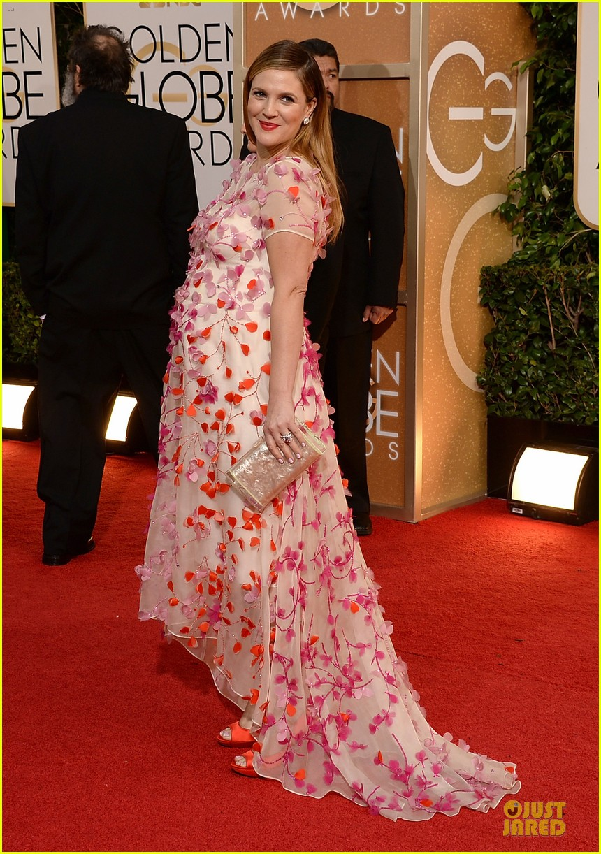 drew barrymore will kopelman golden globes 2014 11