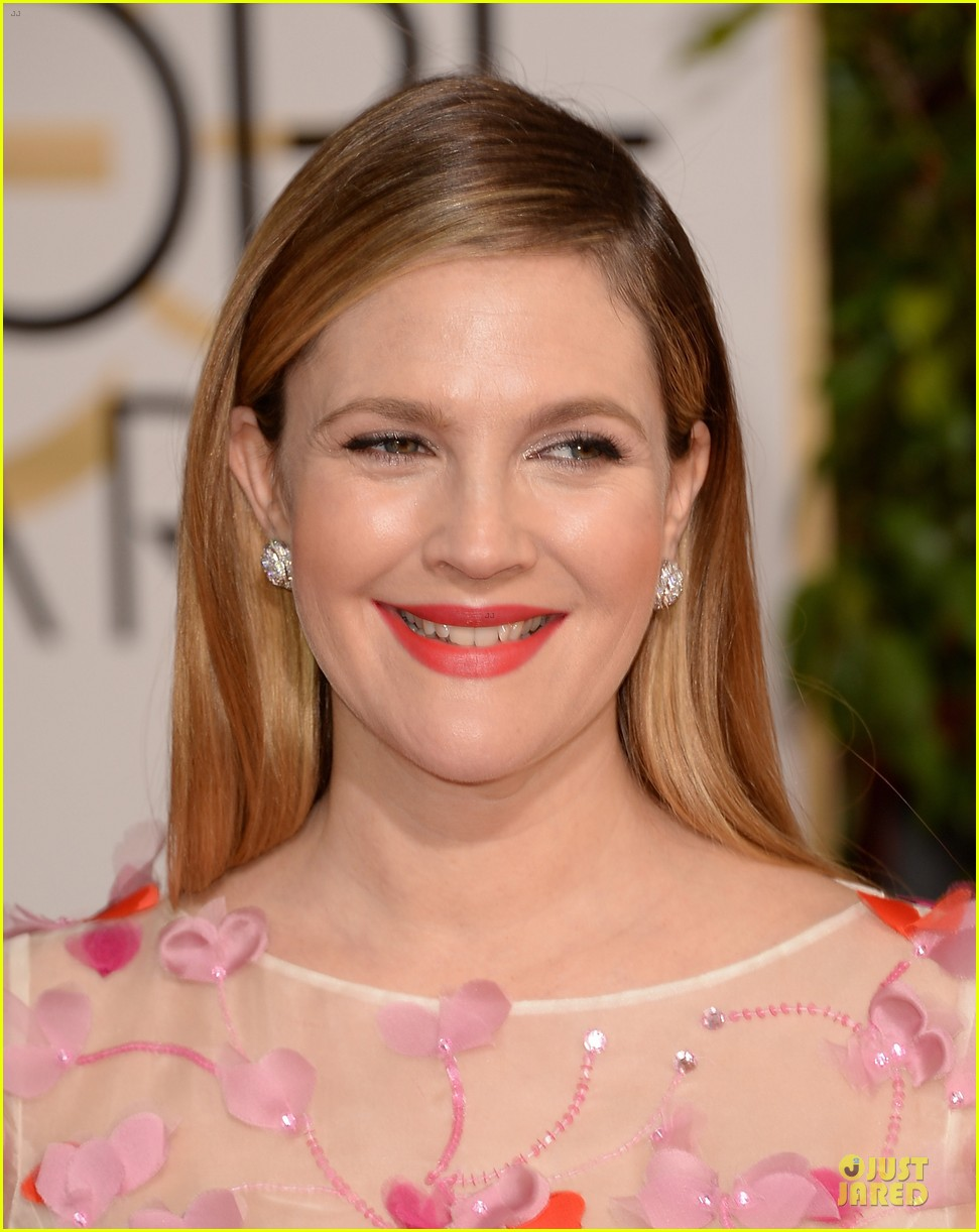 drew barrymore will kopelman golden globes 2014 14