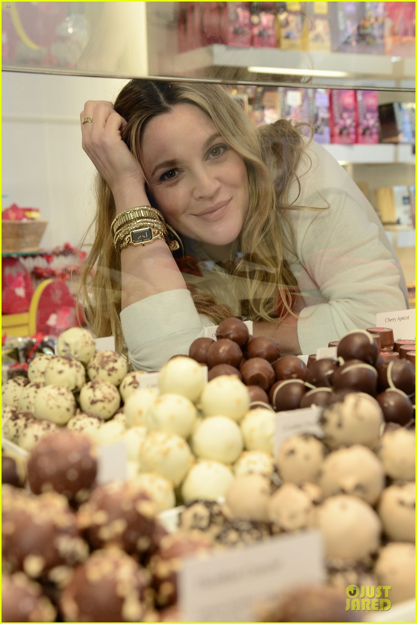 drew barrymore partners with godiva to launch new book 05