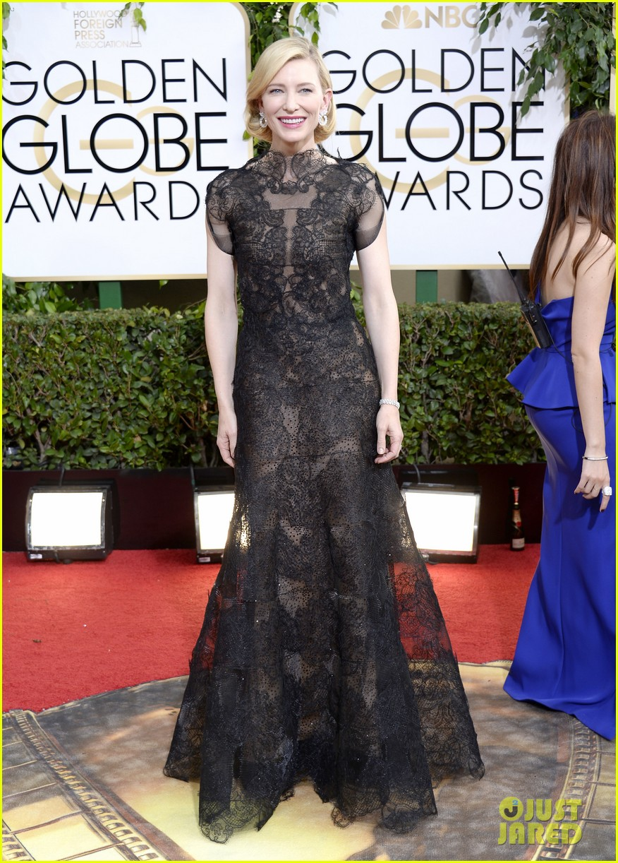 cate blanchett golden globes 2014 red carpet 013029227