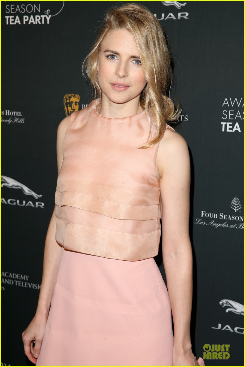 cate blanchett brit marling bafta tea party 2014 15