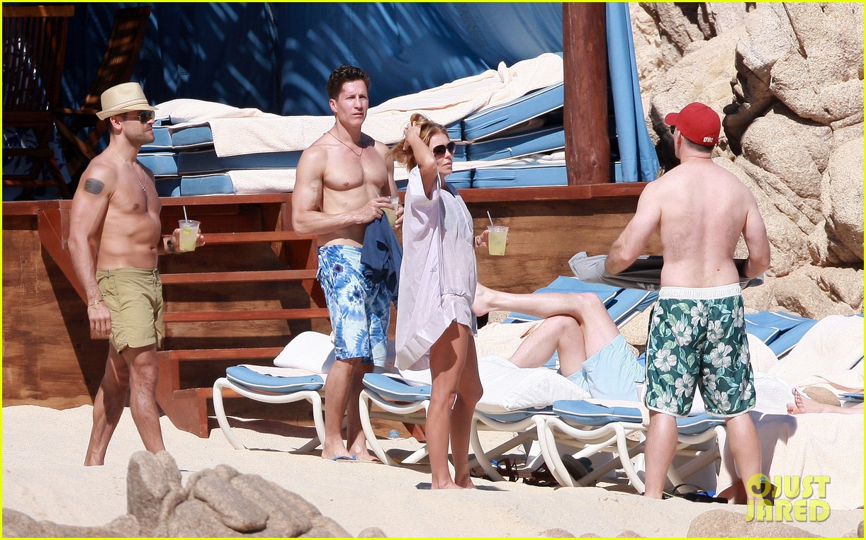matt bomer shirtless sexy cabo vacation with simon halls 283035189