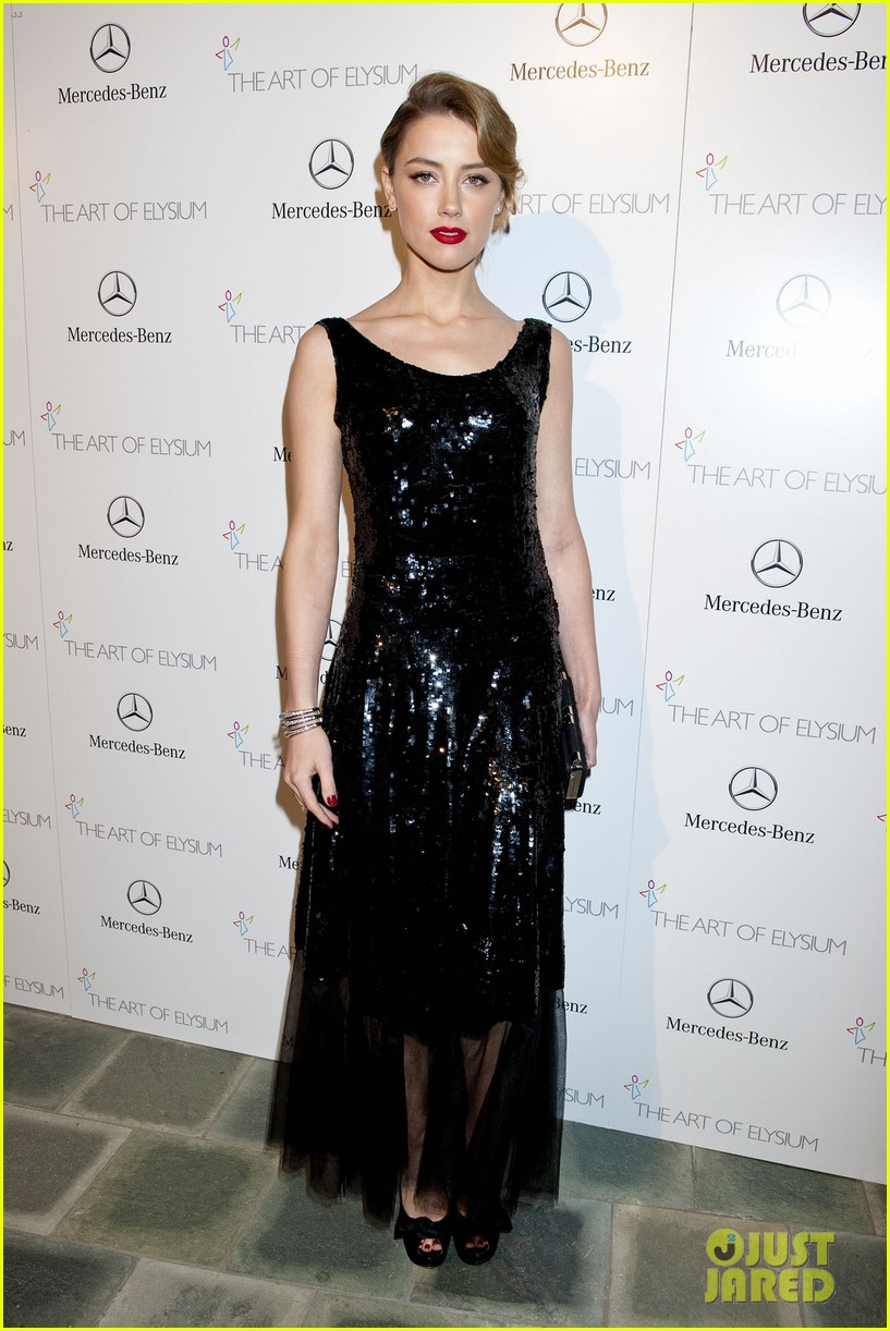 kate bosworth amber heard art of elysium heaven gala 2014 203028429