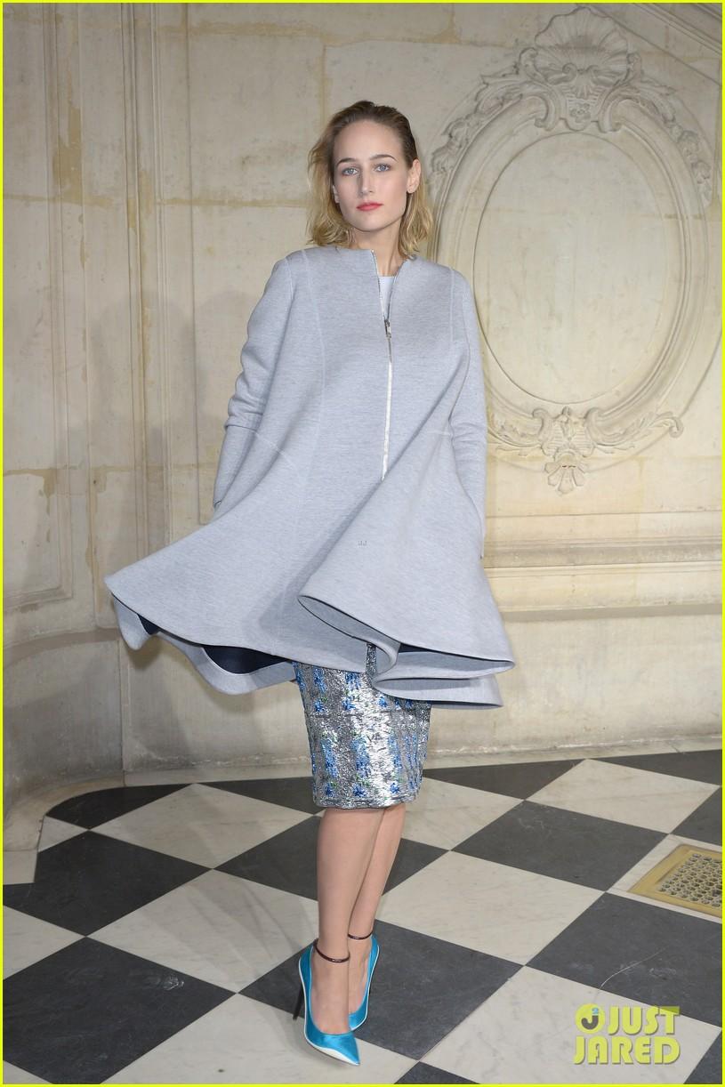 kate bosworth olga kurylenko christian dior paris fashion show 033036327