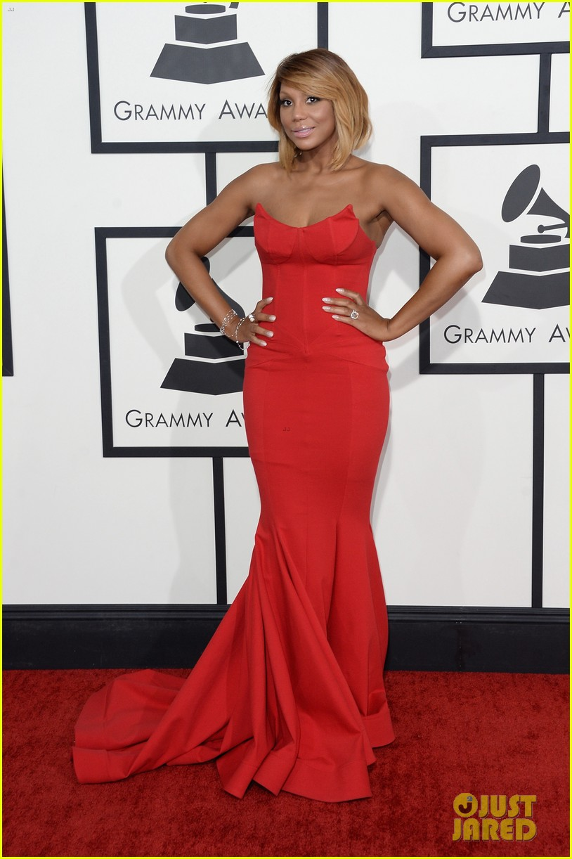 tamar braxton grammys 2014 red carpet 013040978