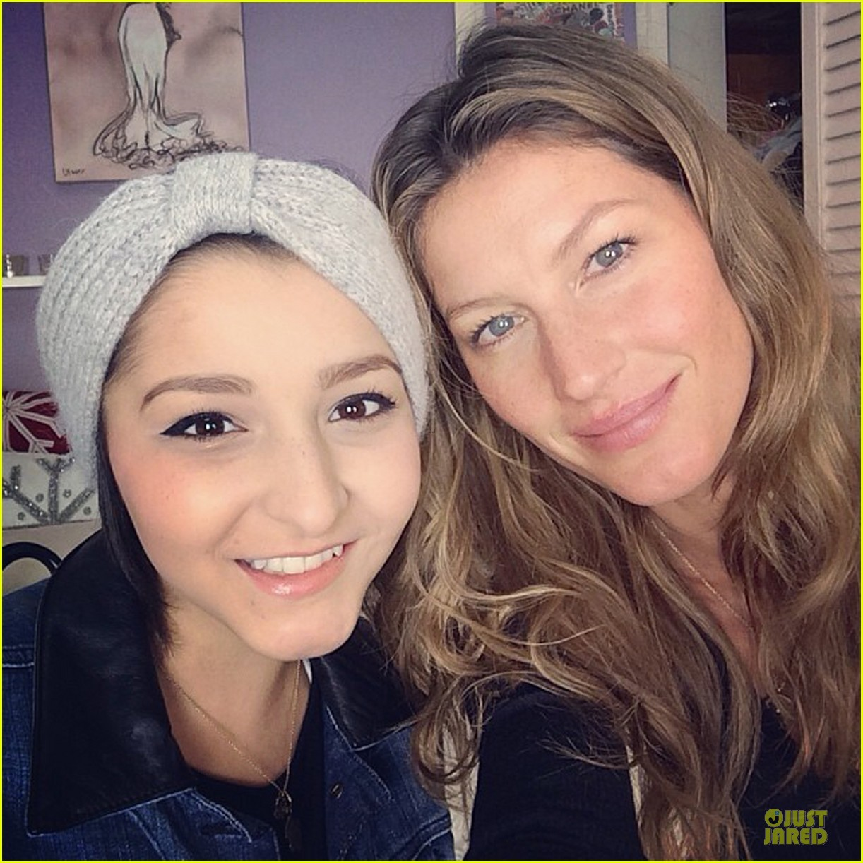 gisele bundchen prays for teenage cancer patient karina xavier 05