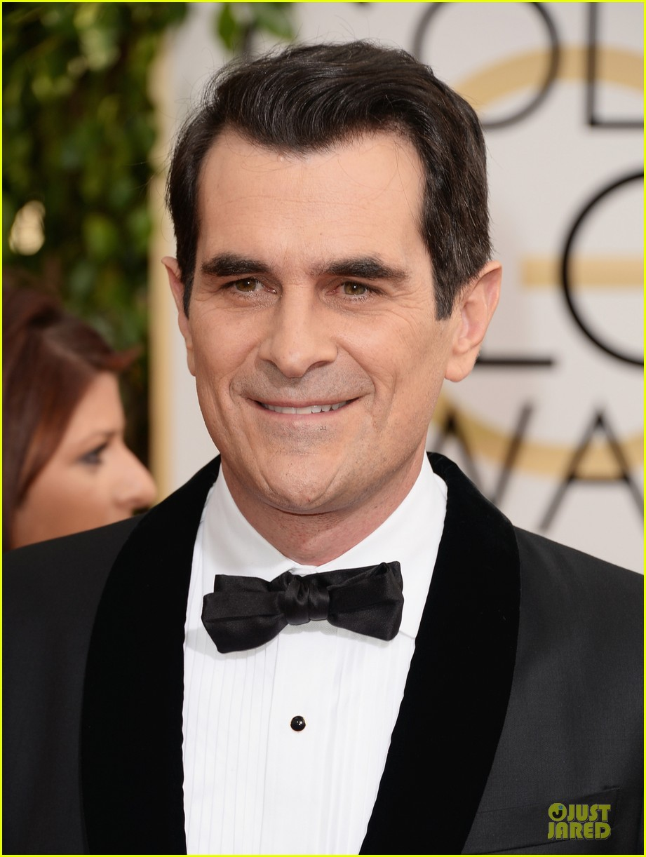 ty burrell ed oneill golden globes 2014 red carpet 10