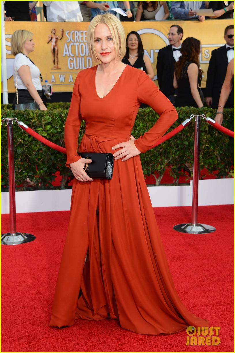 steve buscemi gretchen mol sag awards 2014 red carpet 093035004