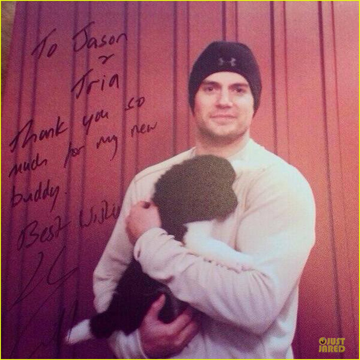 henry cavill gina carano adopt a puppy together 02