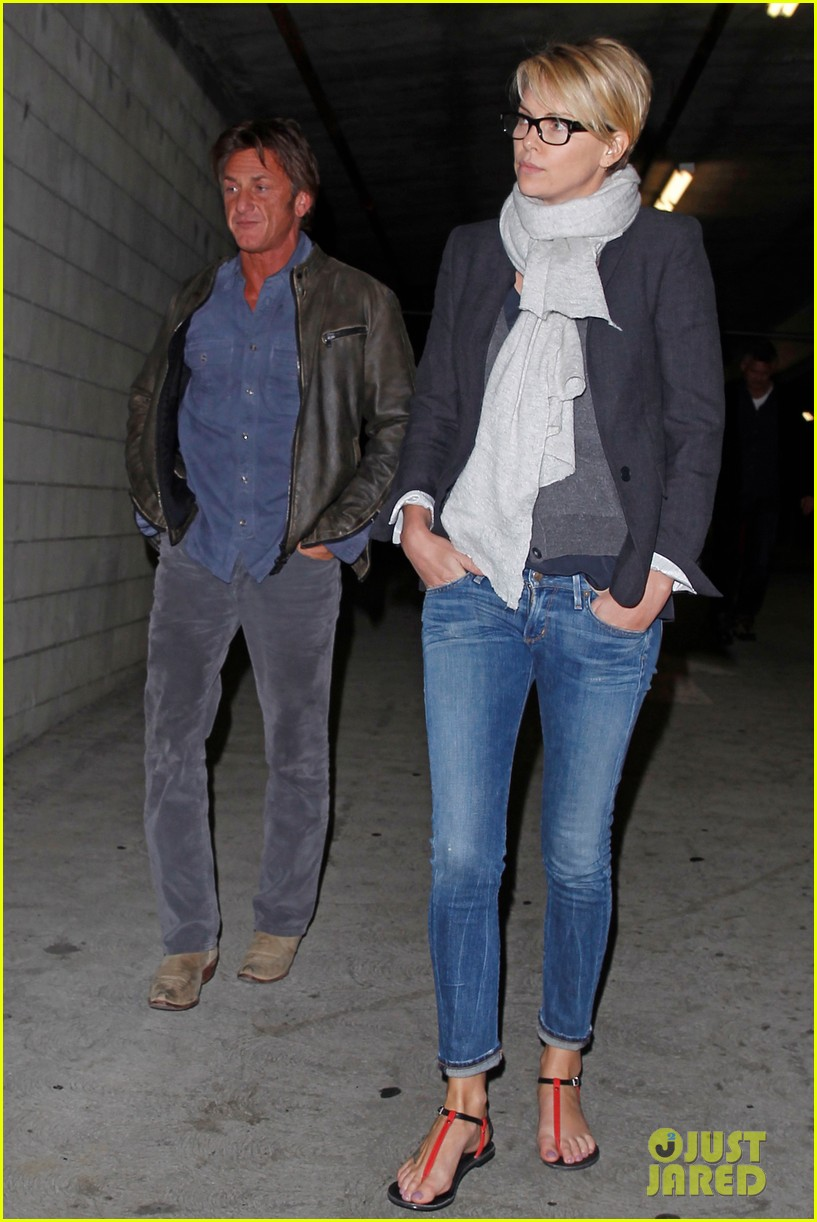 charlize theron sean penn movie date night 29