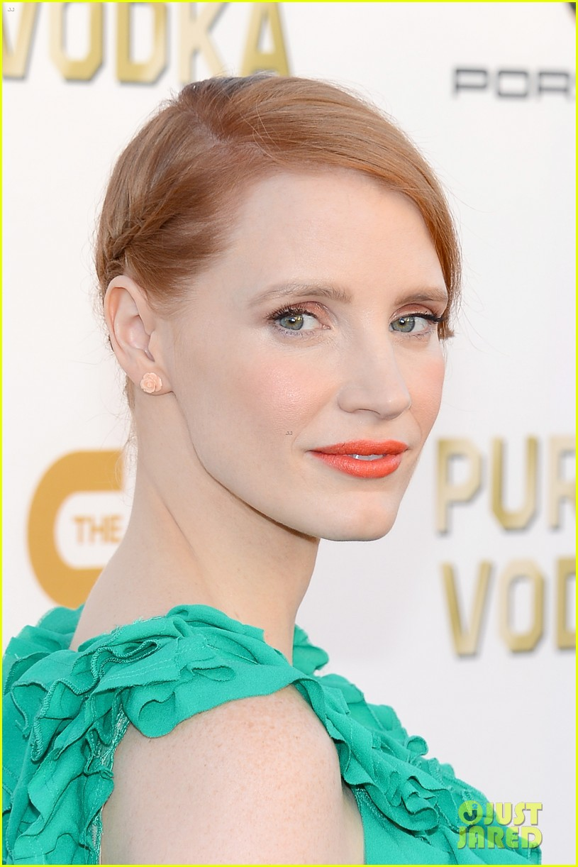 jessica chastain critics choice movie awards 2014 red carpet 103032905