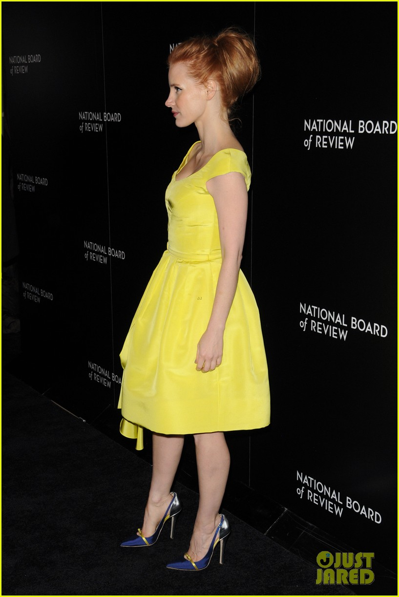 jessica chastain national board of review awards gala 2014 11