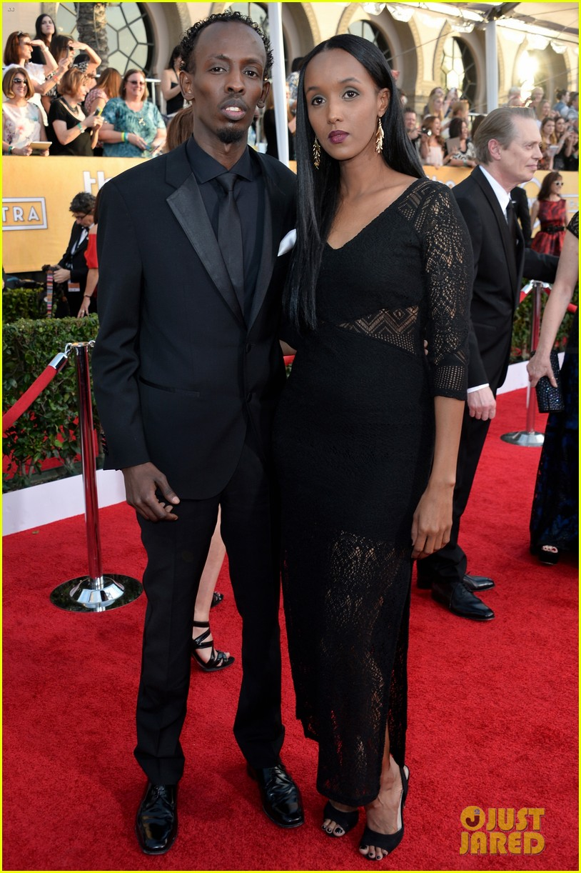 chiwetel ejiofor barkhad abdi sag awards 2014 red carpet 043034850